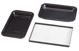Toaster Oven Roasting Pans Set of 3 by Home-Style Kitchen TM