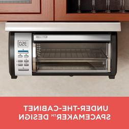 Toaster Oven Stainless Steel Kitchen Home Pizza Black Bread