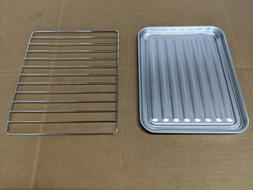 Toaster Oven Tray Baking Pan Broiler Rack Replacement Comfee