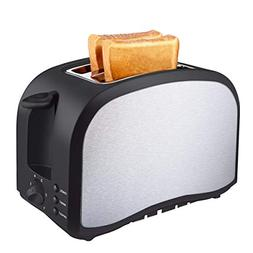 Toaster 2 Slice, KEEMO Compact Bread Two Slice Toasters With