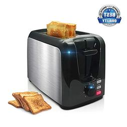 Toaster, 2 Slice Toaster Toasts Evenly And Quickly Black Sta