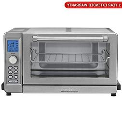 Cuisinart TOB-135 Deluxe Convection Toaster Oven Broiler, Br