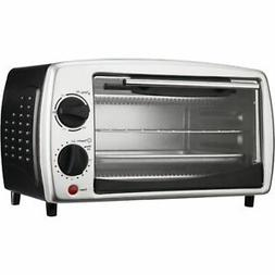 BRENTWOOD TS-345B Toaster Oven 4 Slice 9L Black