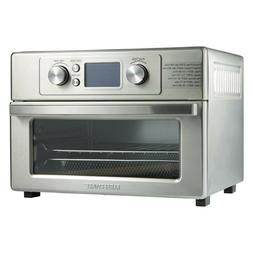 Air Fryer Convection Oven Kitchen Counter Toaster Combo w Ti