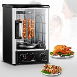 Costway Vertical Rotisserie Oven Countertop Rotating Grill w