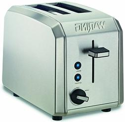 Waring WT200FR Professional 2-Slice Toaster, Brushed Stainle